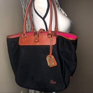 DOONEY & BOURKE | Black Shoulder Satchel Handbag